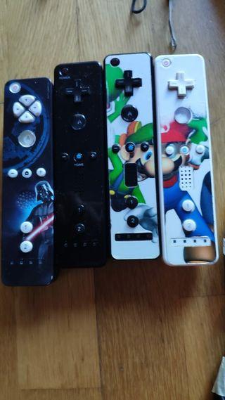 Wii con accesorios y estación de carga