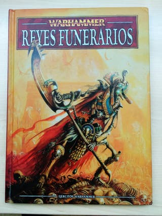 Libro Reyes Funerarios Warhammer Fantasy 8a edicio