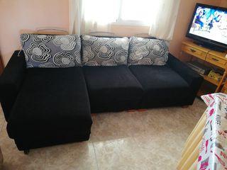 sofa chaislongue 140cm