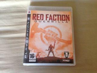 Juego red faction de ps3 muy nuevo