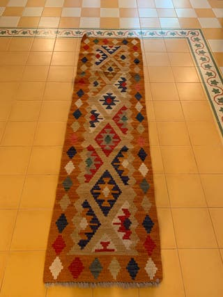 Alfombra kilim rectangular ideal pasillo