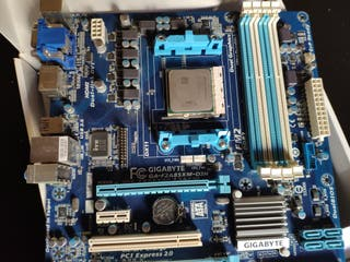 Pack placa base + CPU + Ram