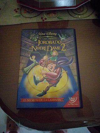 El jorobado de Notre Dame 2, dvd