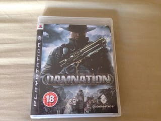 JUEGO DAMNATION PS3 IMPECABLE