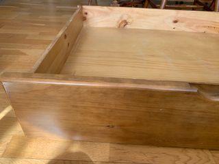 Cajones para almacenaje por debajo de cama