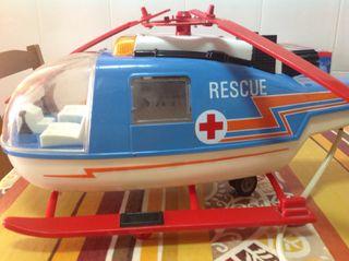 Helicóptero Marca Rico Años 70