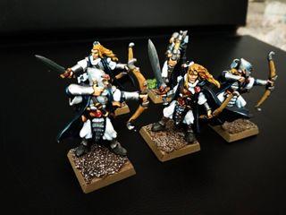 Sombrios Warhammer Altos Elfos