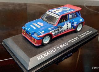 Renault 5 Maxi Turbo escala 1/43