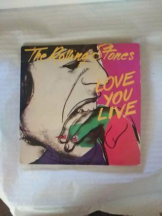 Disco de vinilo doble deThe Rolling Stones