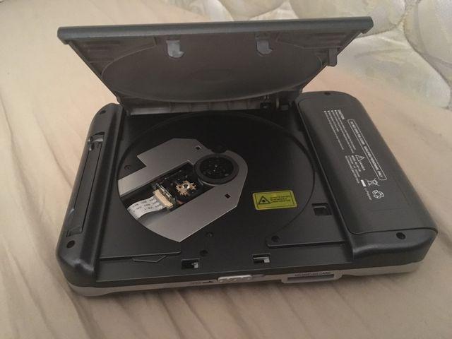 Reproductor portatil DVD