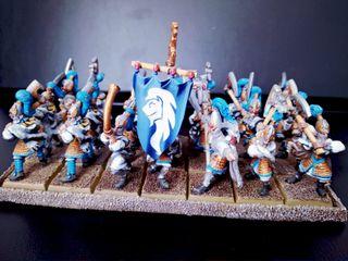 Leones Blancos de Cracia Warhammer Fantasy