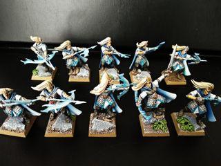 10 Hermanas de Avelorn Altos Elfos Warhammer F