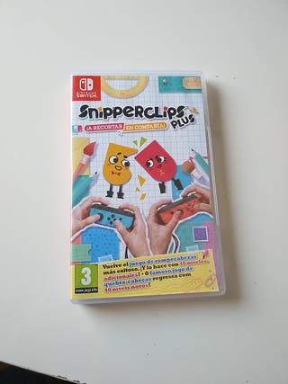 snipperclips plus, Nintendo Switch