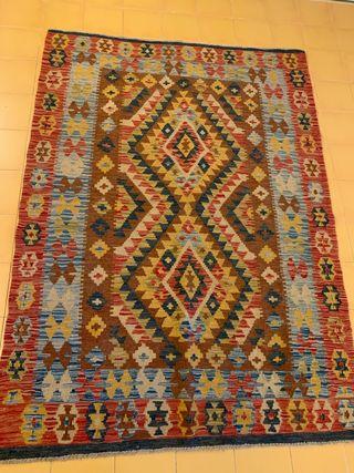 Alfombra kilim 130x180 perfecto estado