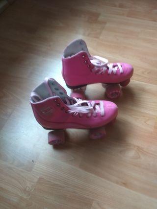 patines niña 4 ruedas