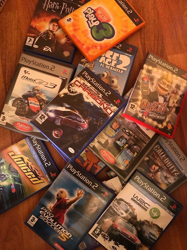 15 juegos PS2