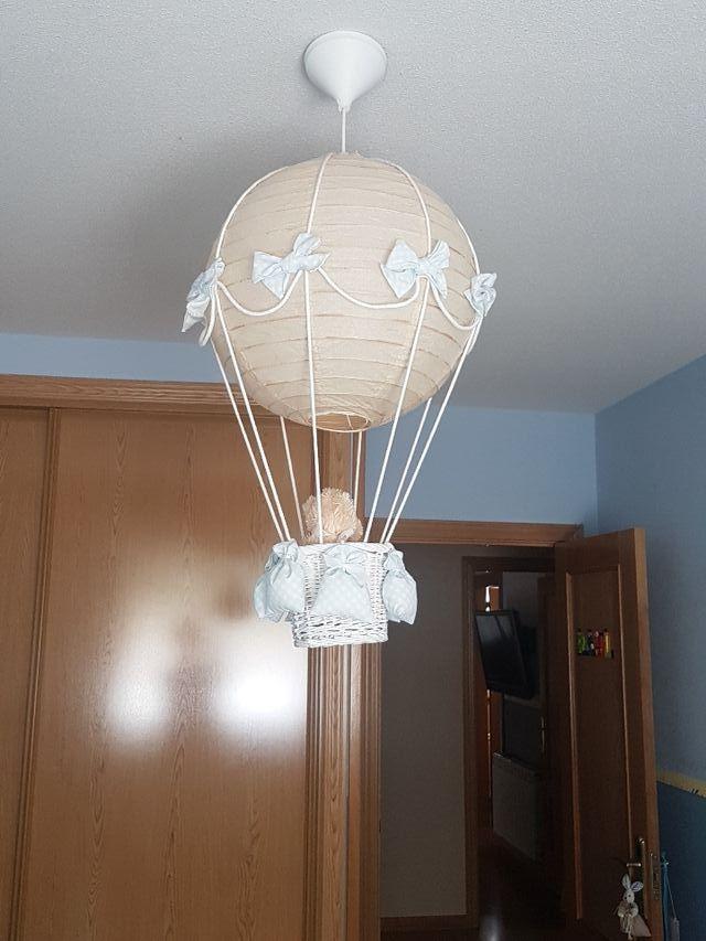 lámpara pasito globo