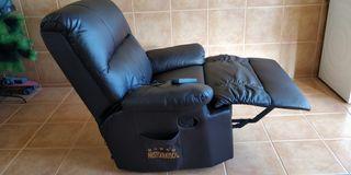 sofá masaje eléctrico