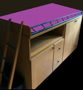 Mueble Juvenil Compacto