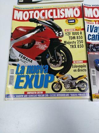 revistas de Motociclismo 1995