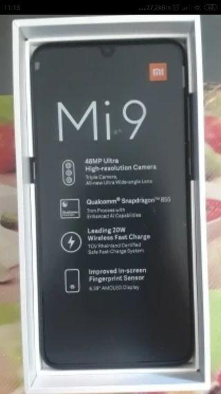 Xiaomi Mi9 64Gb **NUEVO EMBALADO**