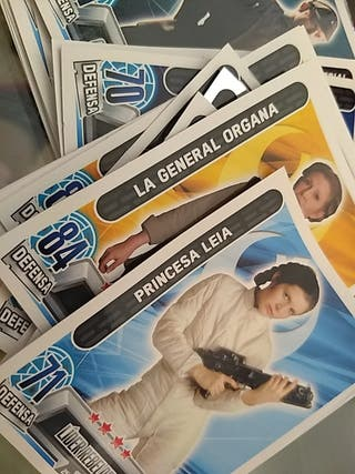 Cromos cartas star wars force attax
