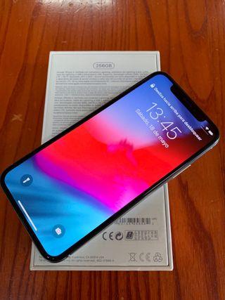iPhone X 256Gb Silver Garantía