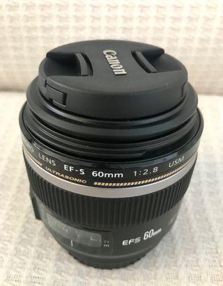 Objetivo Canon EF-S 60mm f/2,8 Macro USM