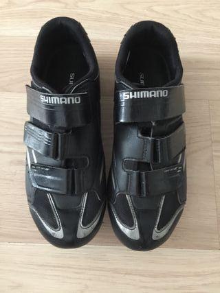 Zapatillas, Shimano WR 32, Bicicleta o Ciclo