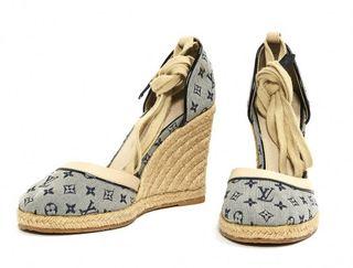 Zapatos Louis Vuitton de cuña