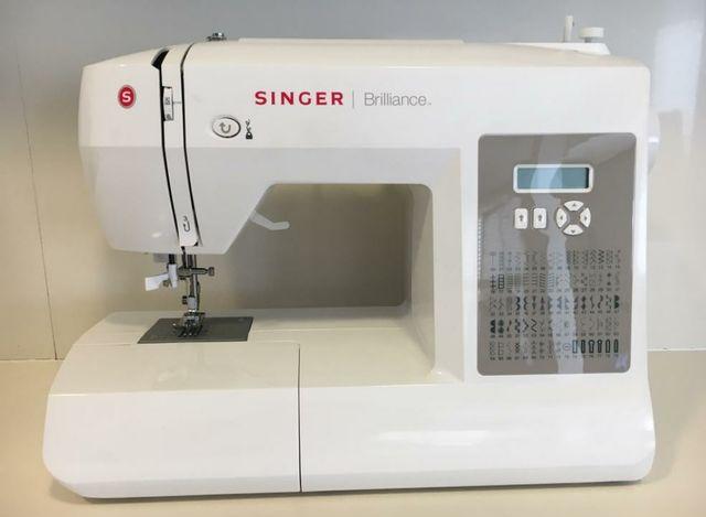 Máquina de coser singer brilliance de segunda mano por 200