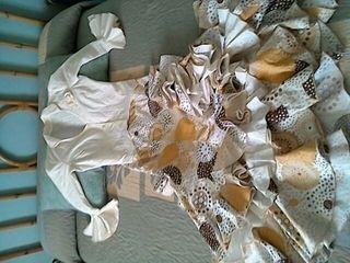 Falda y blusa rociera y flamenca