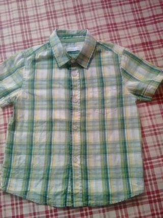 camisa talla 2 años de el corte ingles ma