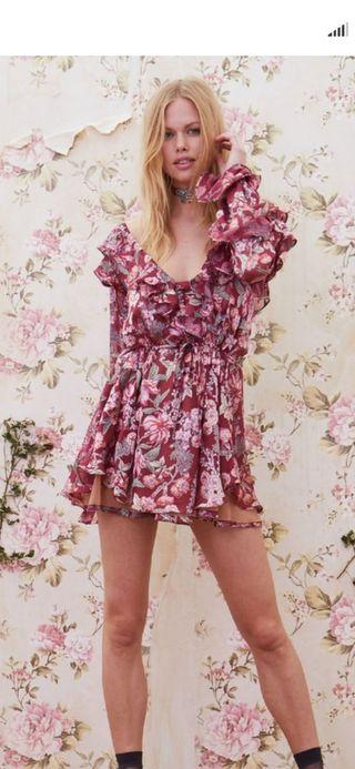 vestido.nuevo.for love and lemons talla s