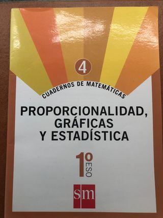 Cuadernillo matemáticas 1ESO