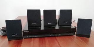 Dvd y 5 cornetas