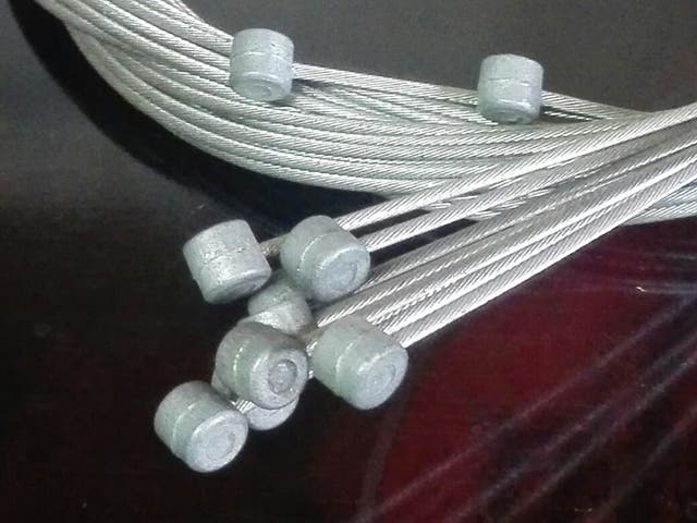 Cables de freno. Martillo - Bicicleta