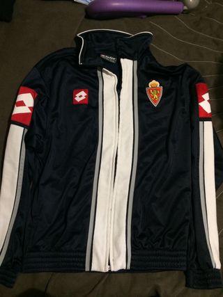 Real zaragoza chaqueta original talla S