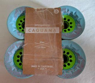 Ruedas Orangatang Caguama 85mm 77a