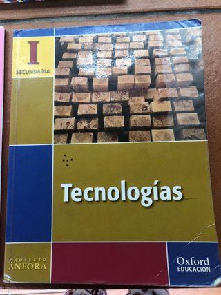 Libro de Tecnología Secundaria con cuadernillo