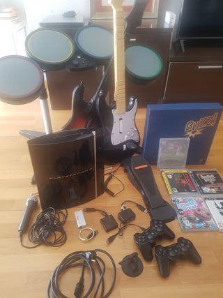 PlayStation 3, juegos y accesorios.