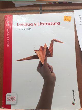 Libro de lengua y literatura 1 Bachiller