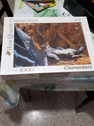 puzzle gato 1000 piezas 5euros