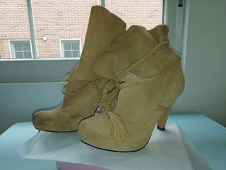botas de piel