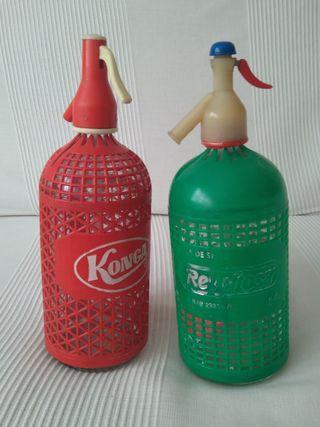 Vendo 2 botellas sifón