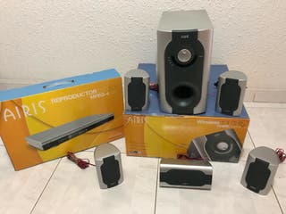 Home cinema Airis 5.1 Wireless + Reproductor DVD