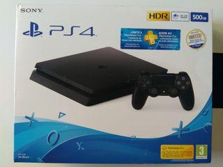 PlayStation 4 (PS4) SLIM - 500 GB + 3 Juegos