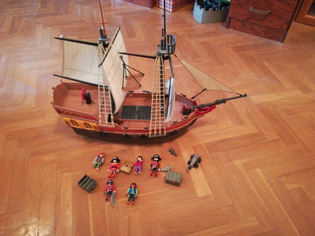 barco pirata Playmobil