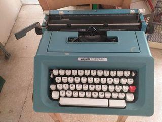 máquina escribir Olivetti 46