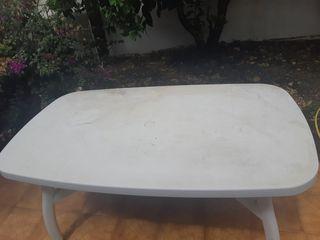 Mesa Terraza y 4 sillas